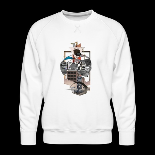 LOVE - Männer Premium Pullover