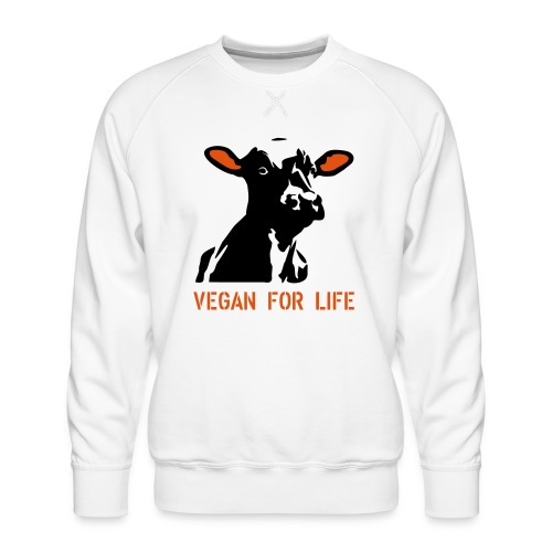 colorida vegan for life - Männer Premium Pullover