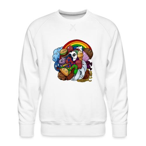 Happy Colors - Männer Premium Pullover
