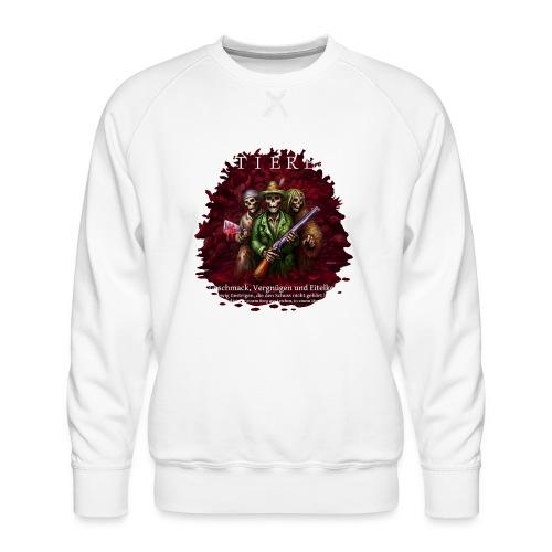 TIERE - Männer Premium Pullover