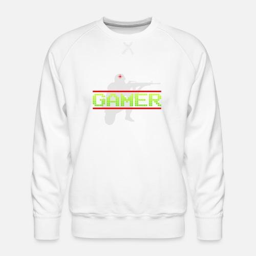 Het Ideale Cadeau Voor de Echte Gamer! - Mannen premium sweater
