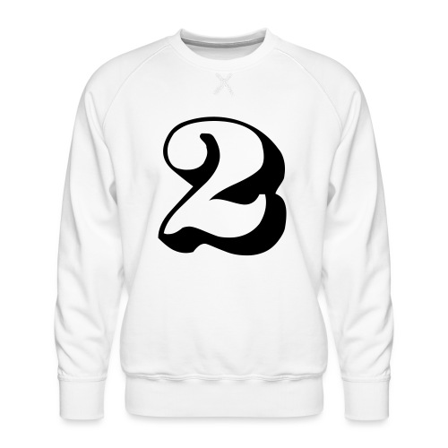 cool number 2 - Mannen premium sweater