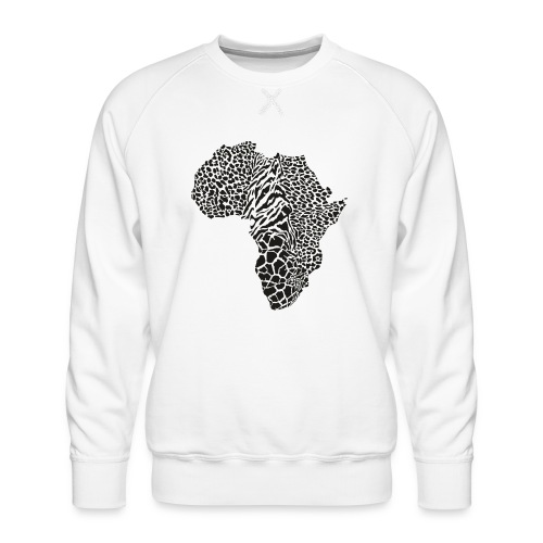 Africa in a animal camouflage - Männer Premium Pullover