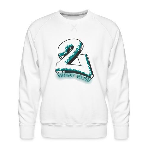 77 what else - Männer Premium Pullover
