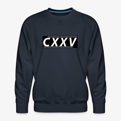 CXXV(Box Design) - Premiumtröja herr