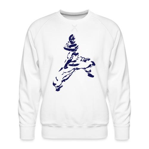 kungfu - Men's Premium Sweatshirt