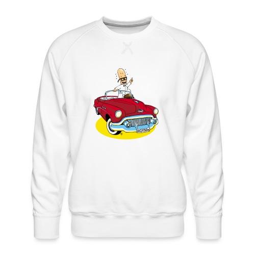 Herr Bohnemann im Buick - Männer Premium Pullover