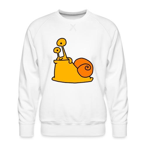 Schnecke Nr 21 von dodocomics - Männer Premium Pullover