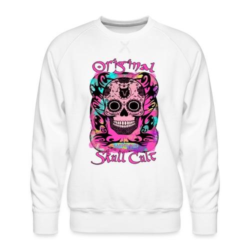 ORIGINAL SKULL CULT PINK - Männer Premium Pullover