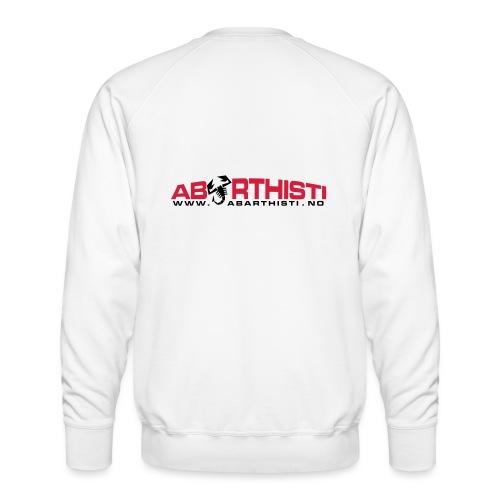 abarthlogored - Premium-genser for menn
