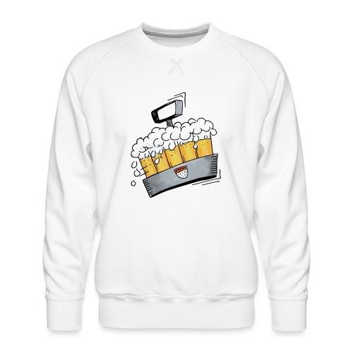 Kölsche Sticker - Kranz.png - Männer Premium Pullover