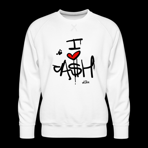 I love Cash - Mannen premium sweater