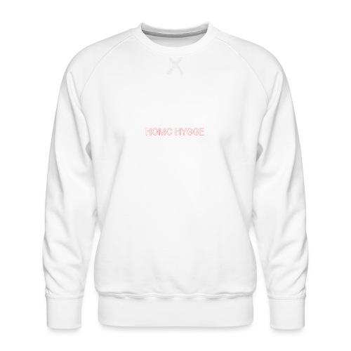 Standard homo hygge logo - Herre premium sweatshirt