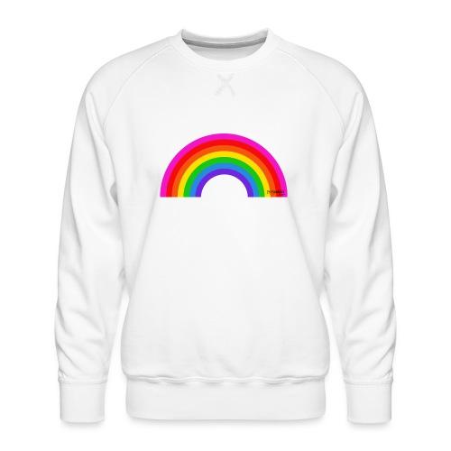 Rainbow - Miesten premium-collegepaita