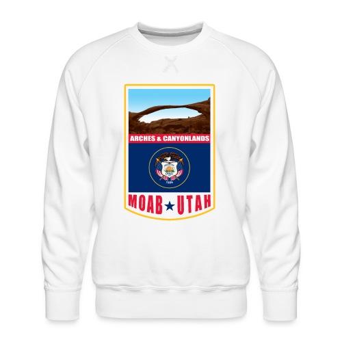 Utah - Moab, Arches & Canyonlands - Men's Premium Sweatshirt