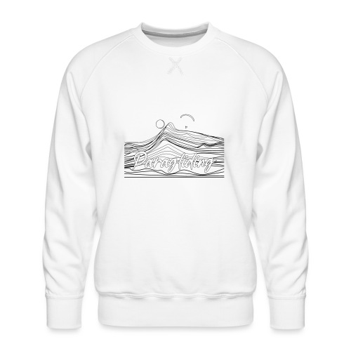 Paragling Lineart Gleitschirn - Männer Premium Pullover