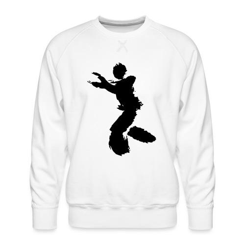Wing Chun / Kung Fu Tusche Figur VEKTOR - Men's Premium Sweatshirt