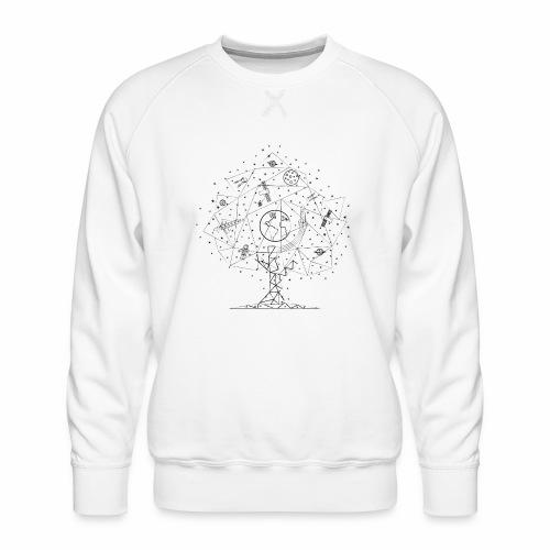 Interpretacja woodspace - Bluza męska Premium