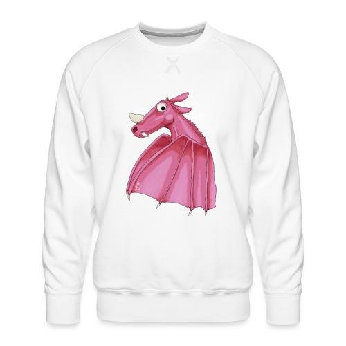 Roze fantasie draak - Men's Premium Sweatshirt