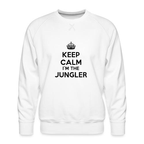 Keep calm I'm the Jungler - Sweat ras-du-cou Premium Homme