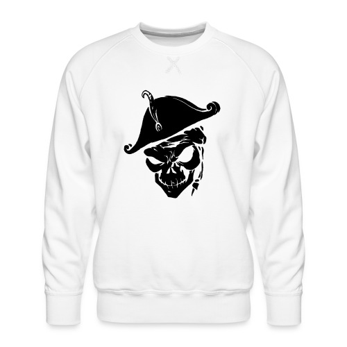 pirate skull - Mannen premium sweater