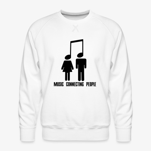 Music Connecting People - Männer Premium Pullover
