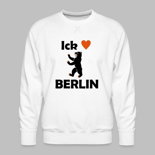 Ick liebe ❤ Berlin - Männer Premium Pullover