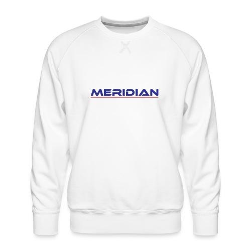 Meridian - Felpa premium da uomo