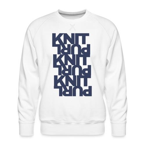 St, dark - Men's Premium Sweatshirt