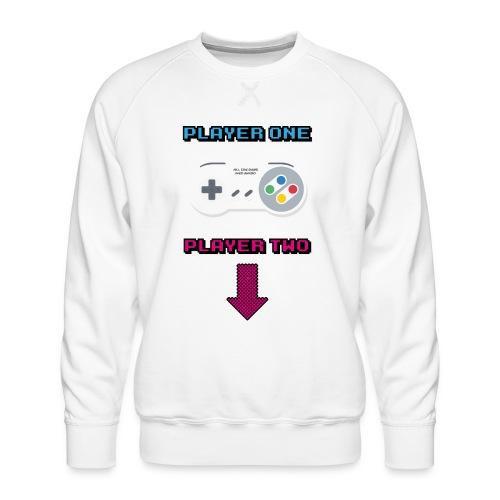 Retro Game All The Best Web Radio - Men's Premium Sweatshirt