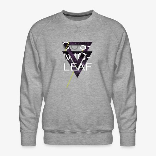 Cosmicleaf Triangles - Men's Premium Sweatshirt