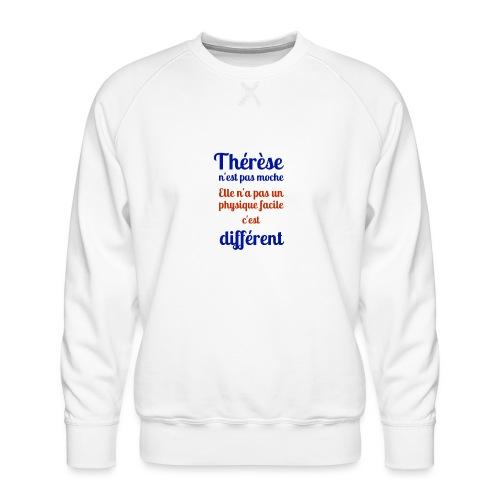 Thérèse - Sweat ras-du-cou Premium Homme