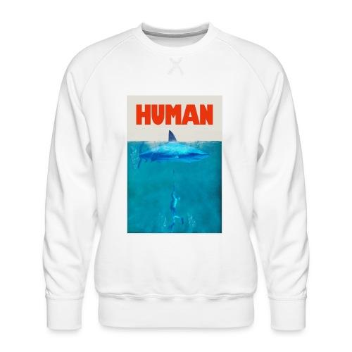 Endangered shark - Sudadera premium para hombre