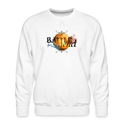 Logo Battle for Legend. - Sweat ras-du-cou Premium Homme