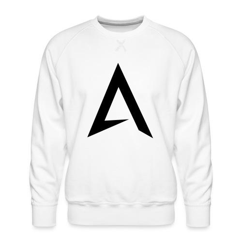 alpharock A logo - Men's Premium Sweatshirt