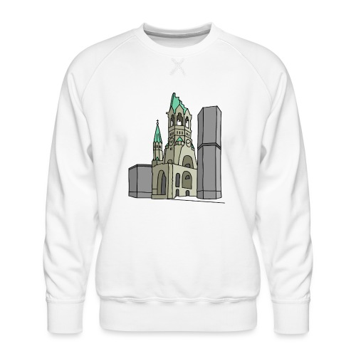 Chiesa dell'Imperatore Guglielmo Berlin c - Felpa premium da uomo