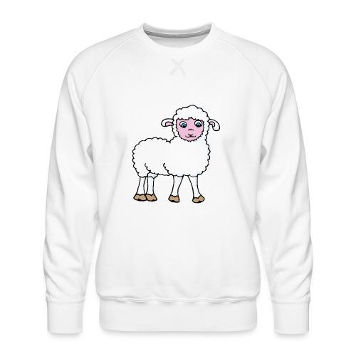 Minos le petit agneau - Sweat ras-du-cou Premium Homme