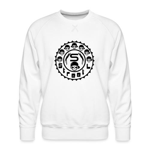rawstyles rap hip hop logo money design by mrv - Bluza męska Premium