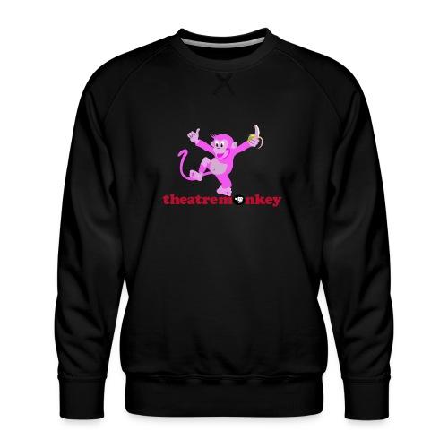 Sammy is In The Pink! - Men's Premium Sweatshirt