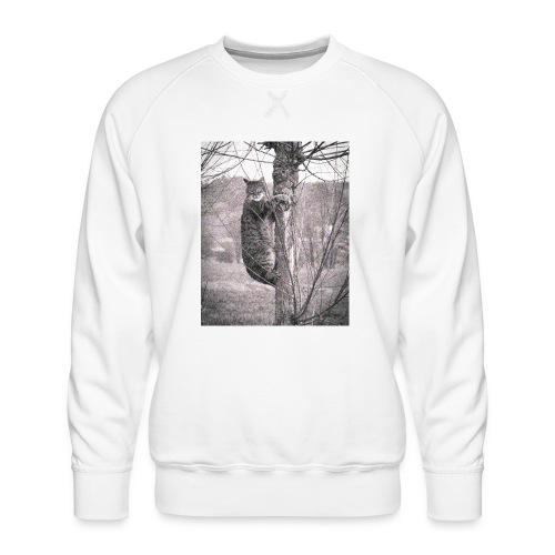 Grumpy Koala Katze im Baum - Männer Premium Pullover