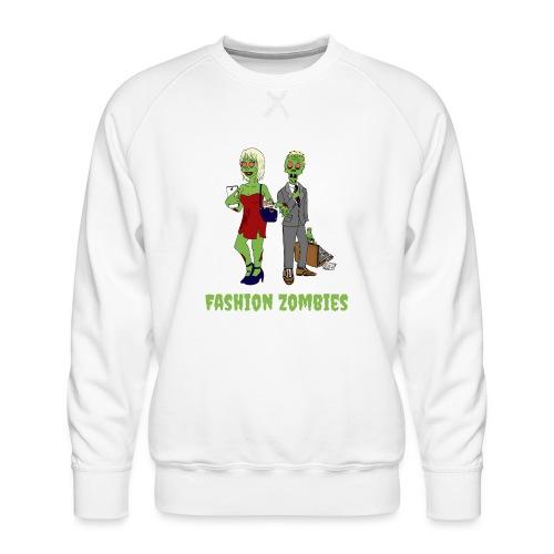 Fashion Zombie - Men's Premium Sweatshirt