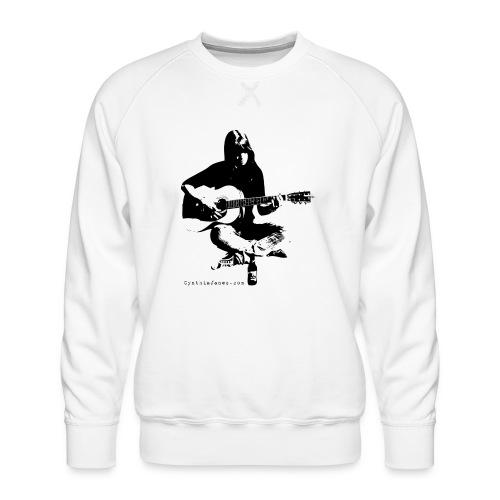 Cynthia Janes guitar BLACK - Men's Premium Sweatshirt