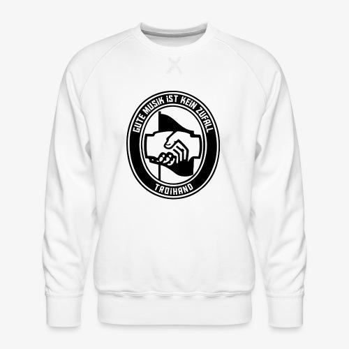 Logo Troihand transparent - Männer Premium Pullover