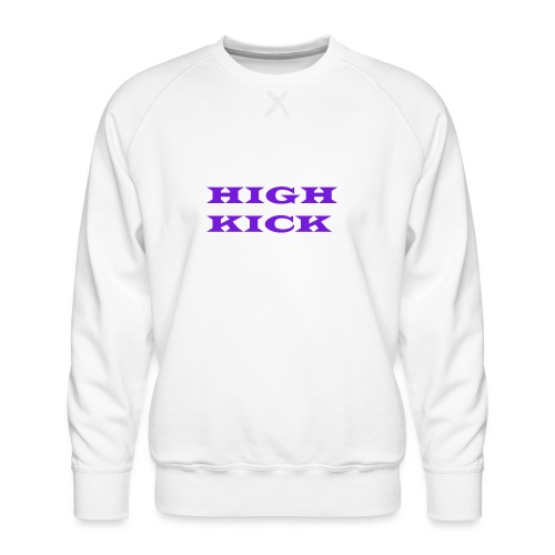 HIGH KICK HOODIE [LIMITED EDITION] - Men's Premium Sweatshirt