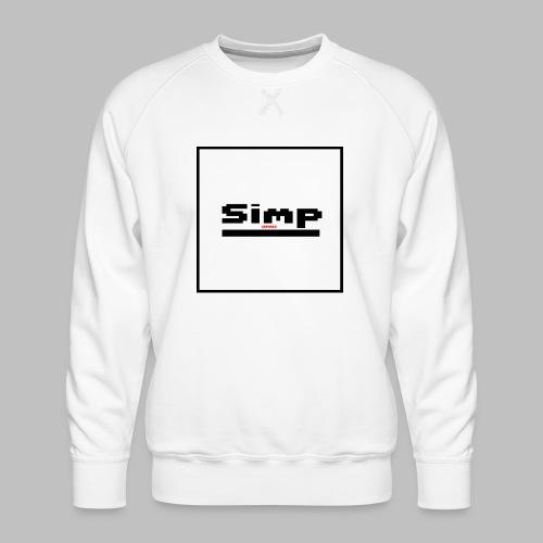 Standard Simp Logo Design - Mannen premium sweater