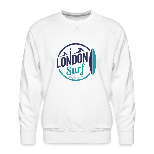 London Surf Classic Logo - Men's Premium Sweatshirt