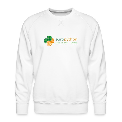 EuroPython 2020 - Color Logo - Men's Premium Sweatshirt