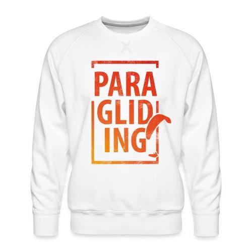 Paragliding Gleitschirmfliegen Paragleiten - Männer Premium Pullover