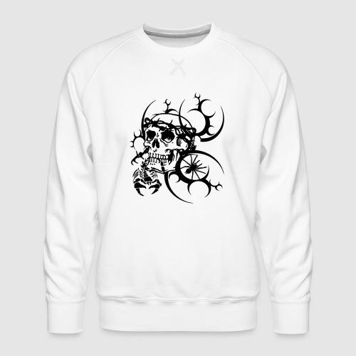 Tattoo Totenkopf - Männer Premium Pullover