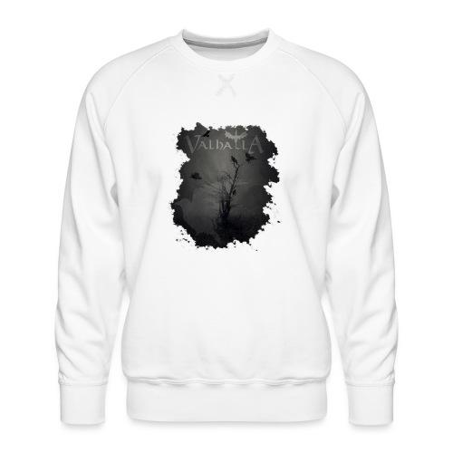 valhalla ravens - Herre premium sweatshirt